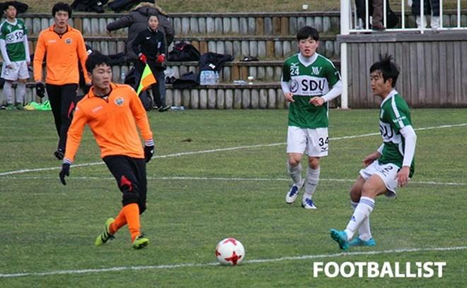 Xuân Trường tỏa sáng trong trận thắng 5-0 của Gangwon