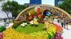 Cấm đường trung tâm Sài Gòn để thi công đường hoa Nguyễn Huệ