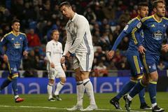 Ronaldo tịt ngòi, Real thua bẽ mặt trên sân nhà