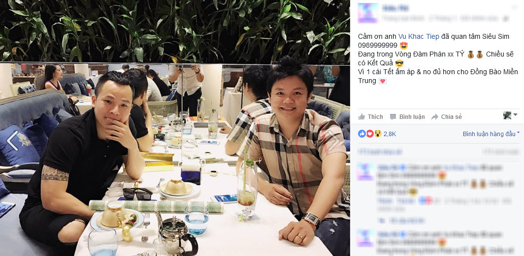 Đại gia Gia Khang, người bán siêu sim 0989999999 cho Ngọc Trinh là ai?