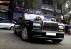 Rolls-Royce Phantom trị giá 28 tỷ rước dâu tại Hải Dương