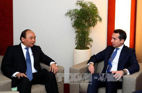 Thủ tướng dự lễ ký thỏa thuận hợp tác PPP đầu tiên với WEF