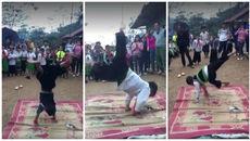Học sinh tiểu học nhảy hiphop như vũ công chuyên nghiệp