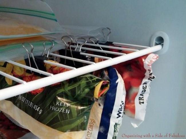 cách xếp đồ, tủ lạnh, bảo quản thực phẩm, mẹo vặt, bếp