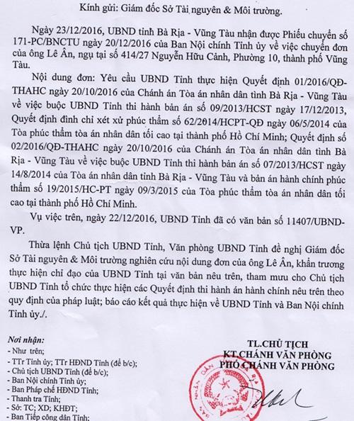 Bà Rịa - Vũng Tàu lo thiếu tiền bồi thường cho đại gia Lê Ân