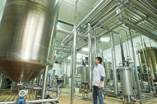 Hương Sen nâng tầm chất lượng sản phẩm