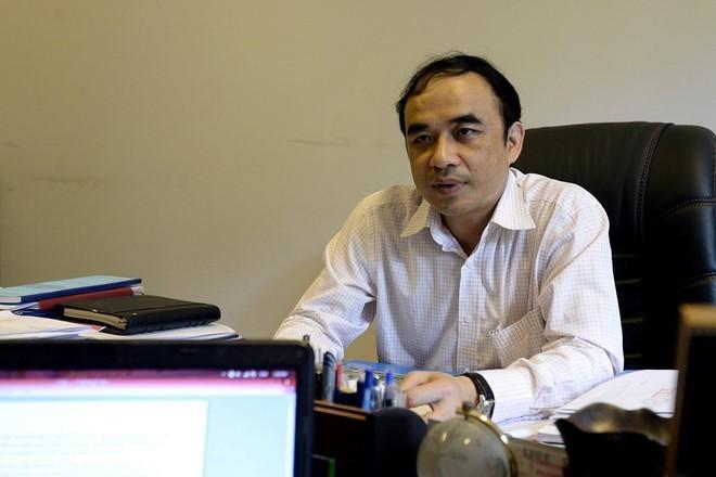 Ông Nguyễn Hữu Tú, Phó Hiệu trưởng Trường ĐH Y Hà Nội.