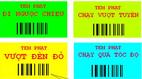 200.000 USD chống ùn tắc: Dán tem phạt thật to lên xe