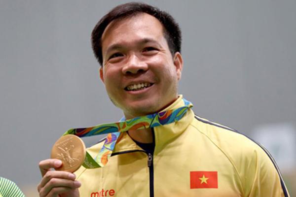 Xem lại khoảnh khắc lịch sử của Hoàng Xuân Vinh ở Olympic 2016