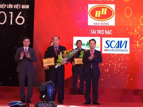 Scavi lọt Top 500 doanh nghiệp lớn nhất Việt Nam