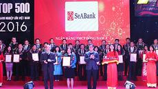 SeABank tiếp tục vào top 500 Doanh nghiệp lớn nhất VN