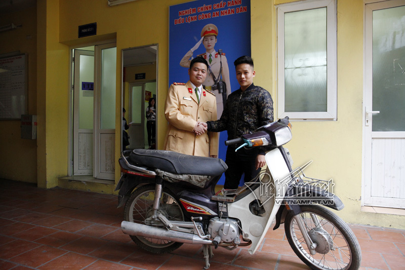CSGT đội 1, xe mất trộm, độc giả VietNamnet