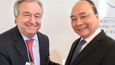 Thủ tướng có nhiều cuộc tiếp xúc song phương tại Davos