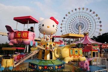 Hà Nội sắp có khu vui chơi giải trí Hello Kitty tại Tây Hồ