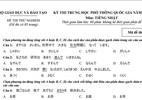 Đề thi thử nghiệm môn Tiếng Nhật kỳ thi THPT quốc gia năm 2017