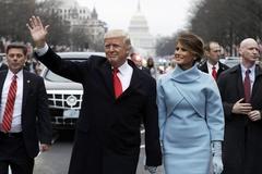 Gia đình Trump đã về tới Nhà Trắng