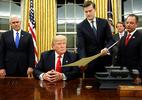 Trump lập tức ký sắc lệnh về Obamacare