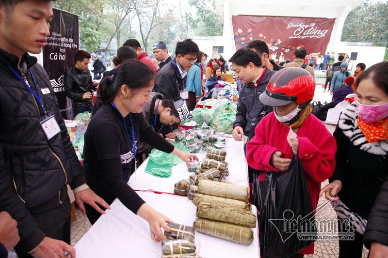 Chợ Tết 0 đồng,người nghèo,quà Tết