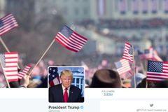 Trump sử dụng ảnh trong lễ nhậm chức của Obama làm bìa Twitter mới