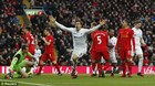Liverpool thua sốc đội bét bảng Swansea
