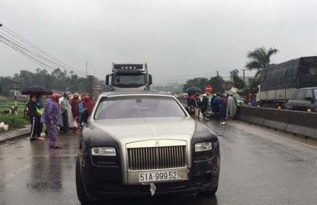 Siêu xe Rolls Royce cán chết người ở Hà Tĩnh