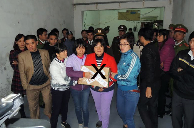 Trần Thị Nga, chống phá nhà nước, xuyên tạc