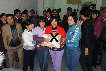 Bắt tạm giam Trần Thị Nga về tội Tuyên truyền chống Nhà nước