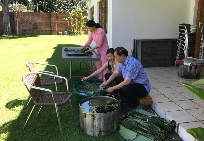 Ấm áp Tết Việt ở Nam Phi