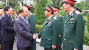 Thủ tướng chúc Tết cán bộ, chiến sĩ Quân khu 5