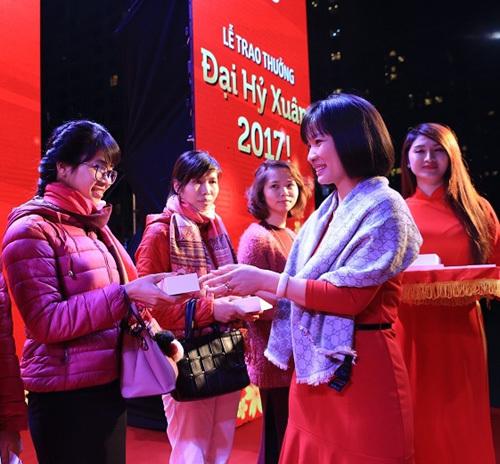 Đại Hỷ Xuân 2017: Vingroup trao thưởng gần 100 tỷ đồng