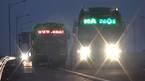 Bến cóc bỗng nhiên 'mọc' trên cao tốc Hà Nội - Hải Phòng