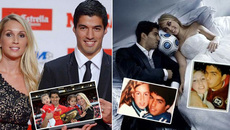 Luis Suarez yêu Barca vì cô vợ xinh đẹp