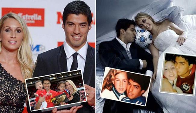 Luis Suarez yêu Barca vì cô vợ xinh đẹp – VietNamNet