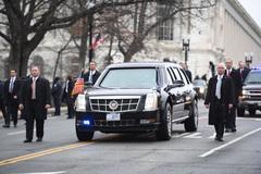 Xe bọc thép mới của ông Trump đang ở đâu?