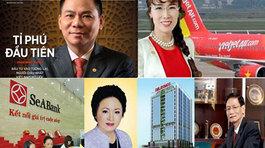 Đại gia Việt ghi danh tỷ phú USD toàn cầu trong 2017