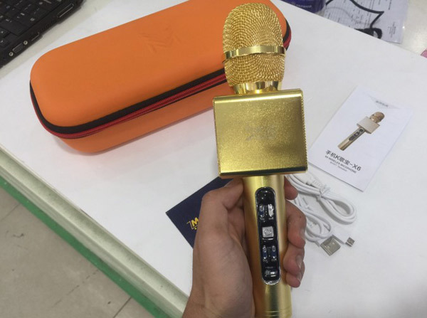 Tậu 'mic vàng' hát karaoke Tết, coi chừng nổ cháy tay