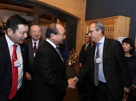 Thủ tướng Nguyễn Xuân Phúc, WEF, Davos 2017