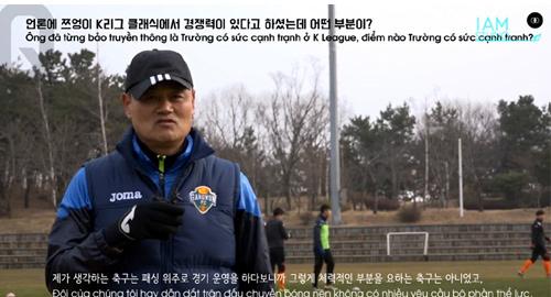 HLV Gangwon lại đưa Xuân Trường