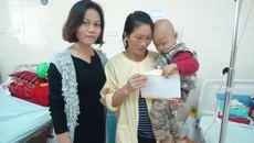 Bé trai mắc 2 bệnh hiểm nghèo gửi lời cảm ơn bạn đọc VietNamNet