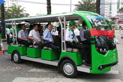 2 tuyến xe buýt điện ở Sài Gòn chính thức hoạt động dịp Tết