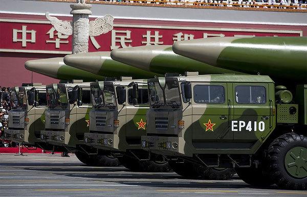 Trung Quốc triển khai tên lửa gần biên giới Nga