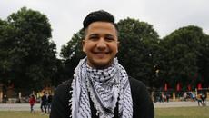 """Nam sinh Palestine: """"Em có 20 lời mời về quê ăn Tết"""""""