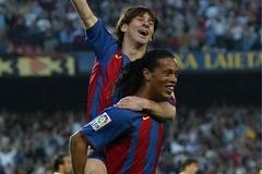 Ronaldinho tái hợp tình yêu Barca và Messi