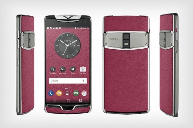 Vertu ra mắt smartphone siêu sang mới