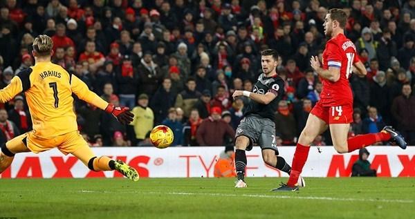 Bán kết Cúp Liên đoàn Anh: Liverpool thua ở phút 90+3