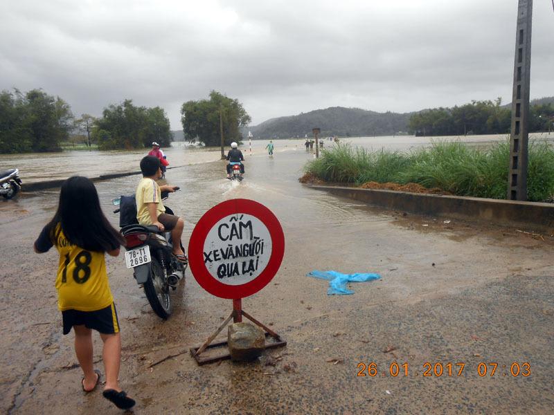 Phú Yên ngập lụt ngày 29 Tết