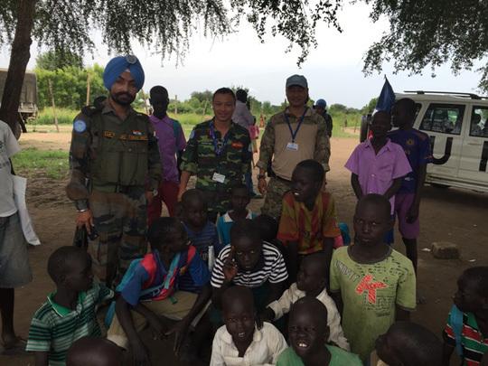lực lượng gìn giữ hòa bình, Nam Sudan, Tết