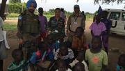 Tết đặc biệt của sĩ quan 'mũ nồi xanh' Việt Nam ở Nam Sudan