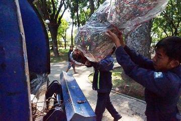 Hàng trăm gốc đào ế thành củi ở chợ hoa Sài Gòn