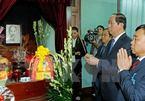 Chủ tịch nước dâng hương tưởng nhớ Bác Hồ